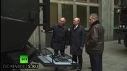 """Показват на руският президент В. Путин ново поколение машини на отряда """" Спецназ """""""