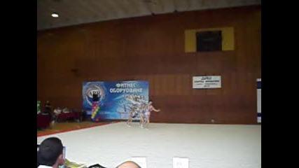 Акробатика - Смесено Тройка Цска 2010г.