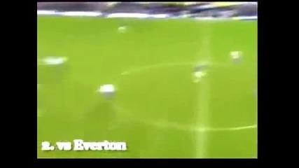 Дрогба Изключителни гол срещу Евертън !