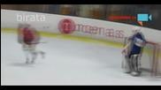 Пиян хокеен вратар