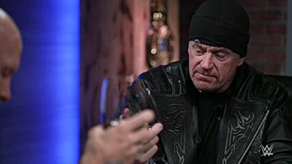 "Undertaker & ""Stone Cold"" taste the new Undertaker wine: Broken Skull Sessions extra"