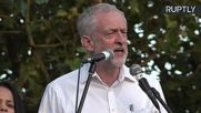 Corbyn Slams 'Orgy of Xenophobia and Racism' at London Rally