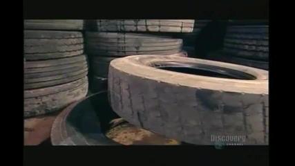 Как се преработват старите гуми