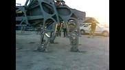2007 Burning Man - Spider Machine.flv