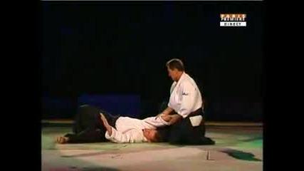 Aikido Demonstration Vs Tissier