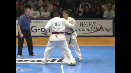Imbras vs. Nesterenko Shinkyokushinkai Karate 2007