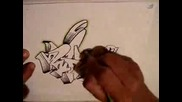 Drawing Graffiti Wildstyle
