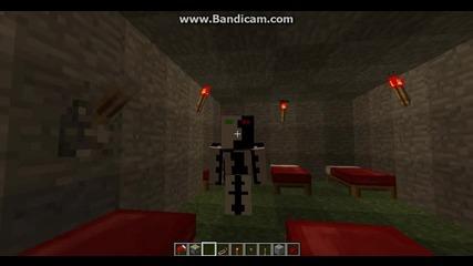 Minecraft; moqta gotina spalnq s lampi ;d