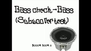 Bass Test (subwoofer Test)