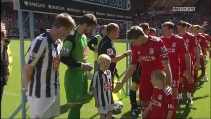 Малко момче го е страх да се здрависа със Steven Gerrard
