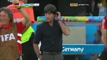 Бундесмашината разплака Аржентина и е световен шампион за четвърти път! Германия 1:0 Аржентина