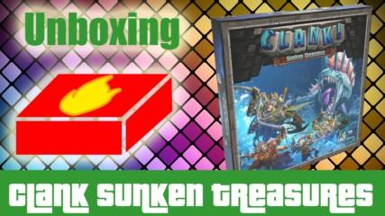 Clank! Sunken Treasures - какво има в кутията