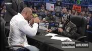 Батиста и Рей Мистерио - Подписване на договор за Survivor Series