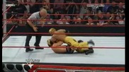 Raw 3 For All 06/15/09 Chris Jericho vs Rey Mysterio [ Intercontinental championship]