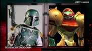 Boba Fett Vs Samus Aran Remastered - Death Battle