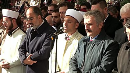 Turkey: Funeral prayers read for slain journalist Khashoggi