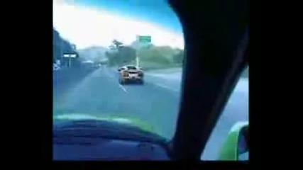 Toyota Supra си прави гаргара Lamborghini Lp640