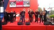 Химнът на Uefa Champions League в изпълнение на духов оркестър