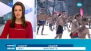 ГОЛИ НА СНЕГА: 1200 скиори и сноубордисти се събраха в Сочи за рекорд