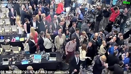 USA: Footage shows Trump campaign manager grabbing Michelle Fields