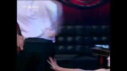 Да те жадувам, Дони в Шоуто на Иван и Андрей (08.01.2010 г.)