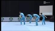 Страхотно изпълнение на Китай ! Световна купа по Акробатика