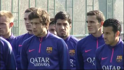 Барселона отдаде чест на Тито Виланова
