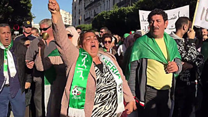 Algeria: Thousands march at last Friday protest before presidential elections