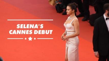 Selena Gomez blasts social media at Cannes Film Festival