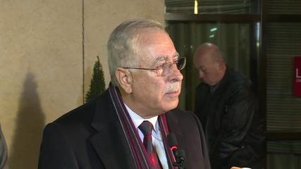 Switzerland: Syrian opposition HNC delegates hold press briefing in Geneva