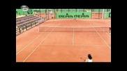 Тенис тренировка