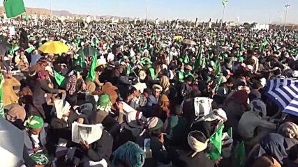 Yemen: Thousands celebrate Mohammed's birthday in Sanaa