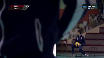 ВК Левски - ВК Пирин 3:2 /репортаж/