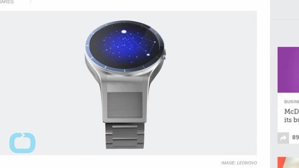 Lenovo's Wacky Magic View Smartwatch Concept
