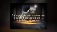 Tose Proeski - Meni hvala ni jedno (превод)