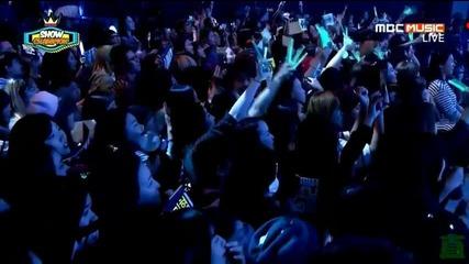 """150527 Първата победа на Shinee с """"view"""" Show Champion"""