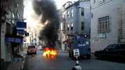 Turkey: Protesters clash with police in Istanbul
