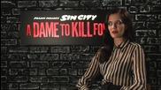 Интервю със звездата Ева Грийн за филма й Град на Греха 2: Жена, за която да убиеш (2014)