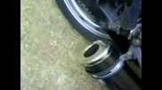Honda Cb 500 R Streetfighter Stubby Exhaust Carbon Can