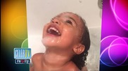 North West's Adorable Bathtub Photo!