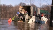 Russia: 11 floating OSTRICHES rescued after severe flooding in Irbit