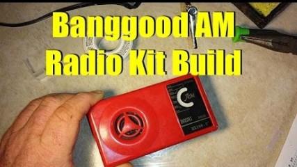 Boshi Banggood AM Radio Kit Build
