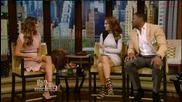 Нина Добрев гостува на Live with Kelly and Michael - 4 август 2014г.