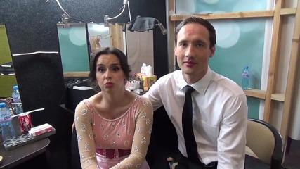 Dancing Stars - Дарин за първоаприлските шеги на Ани (01.04.2014г.)