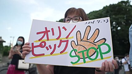 Japan: Anti-Olympic protest take to Tokyo Streets as Olympic games set to kick off