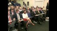 Джордж Буш заяви, че банковата система в страната е стабилна
