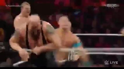 Wwe Raw John Cena vs Seth Rollins, Kane&big; Show
