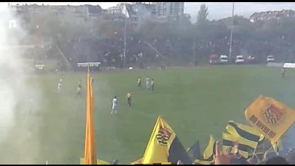 Ботев - Локомотив Пд 1 - 0 ...началото на 2 полувреме !!!
