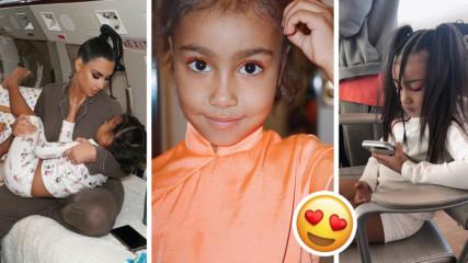 Голямата дъщеря на Ким Кардашиян е на 5 г. и вече е модна икона! Вижте!