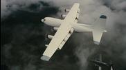 Черният Рицар: Възраждане / Бейн и наемниците му разбиват самолета